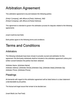 Debt Settlement Agreement Template Get Free Sample
