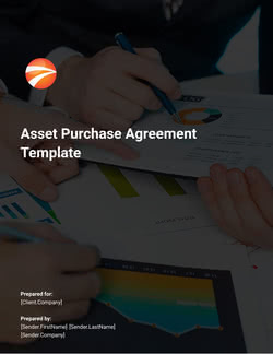 Asset Purchase Agreement Template