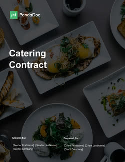 Catering Contract Template