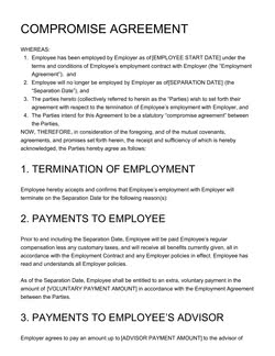 Memorandum Of Agreement Template Get Free Sample