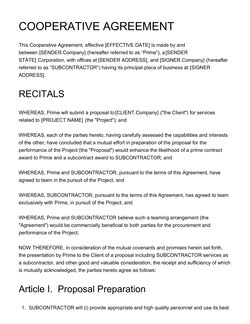 License Agreement Template - Get Free Sample