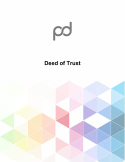 Deed of Trust Template