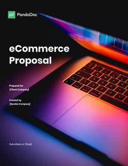 Ecommerce Website Design Proposal Template