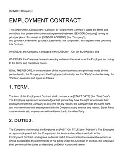 Document & Contract Templates [200+ FREE Examples] - Edit in