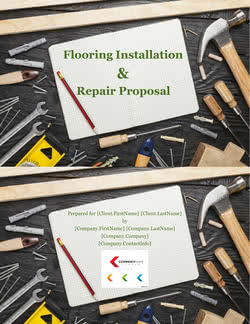 Flooring Installation and Repair Proposal Template