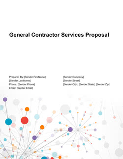 General Contractor Services Proposal