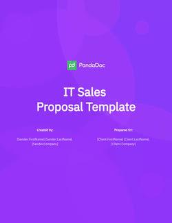 IT Sales Proposal Template