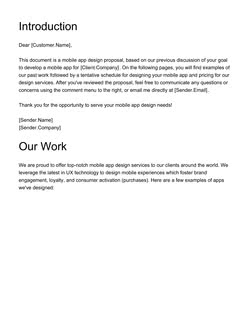 Software Development Proposal Template - Get Free Sample