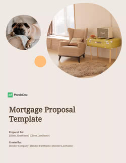 Mortgage Proposal Template