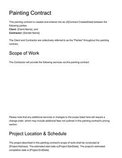 Business Contract Template - Get Free Sample