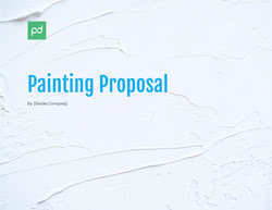 Painting Proposal Template