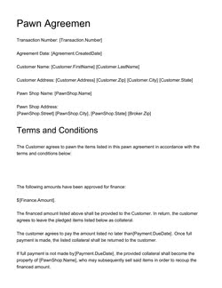 Car Sale Agreement Template Get Free Sample