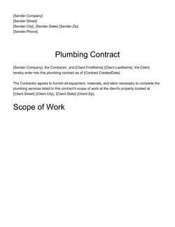 Freelance Contract Template - Download Free Sample