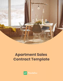 Real Estate Apartment Sales Contract Template