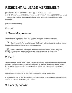 Real Estate Contract Templates 15 Free Samples Edit And