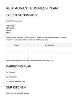 Business Plan Templates You Need To Have In 2018 7 Free