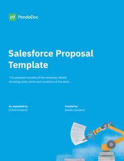 Salesforce Proposal Template