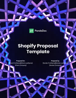 Shopify Proposal Template