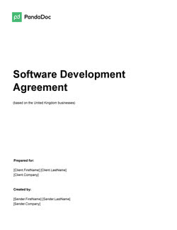Software Development Agreement Template UK