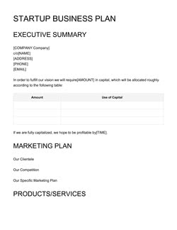 Free Business Plan Template Get Free Sample Updated For 2018