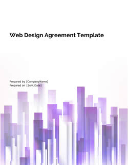 Web Design Proposal Template - Get Free Sample