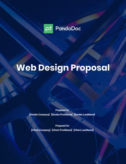 Proposal Templates For Creative Design Projects Free Samples Pdfs