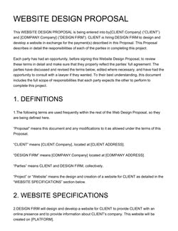 Business Proposal Templates [100+ FREE Examples] - Edit & Download