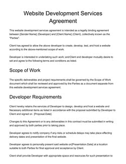 Web Development, IT and Design Proposal Templates (25+ FREE Samples)