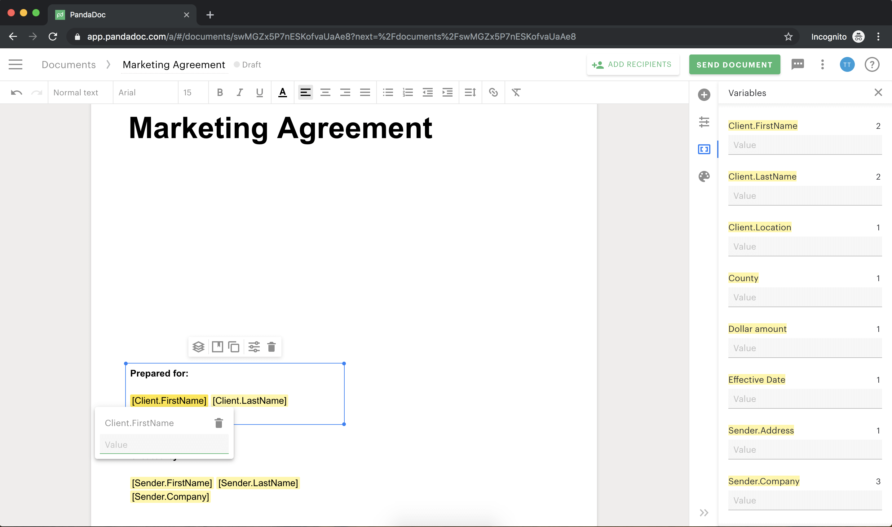 Marketing_agreement