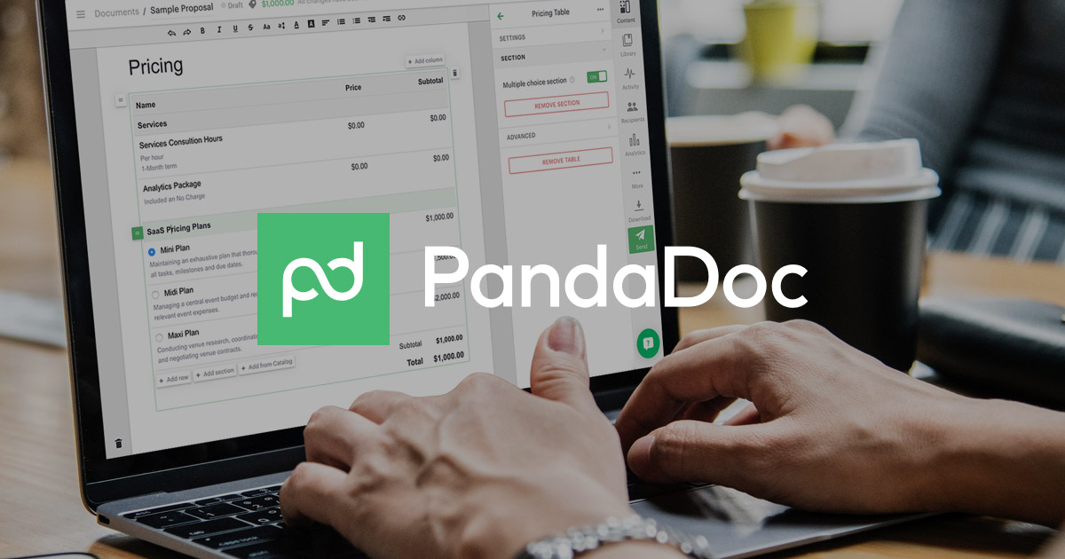 PandaDoc - Sales Documents That Close - Proposals, Quotes