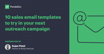 10 sales email templates to try in your next outreach campaign