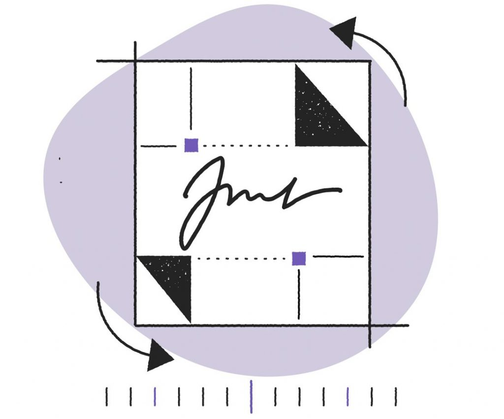 crop your handwritten signature to an acceptable size