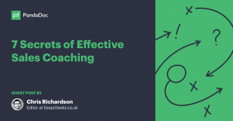 Effective sales coaching for sales teams and reps