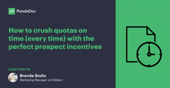 How to crush quotas on time (every time) with the perfect prospect incentives