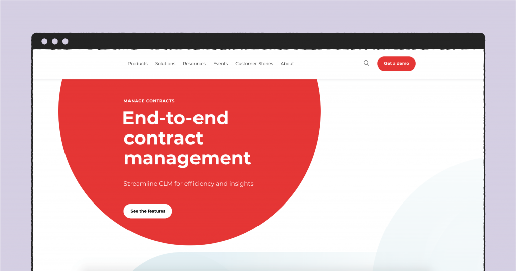 Conga contract management