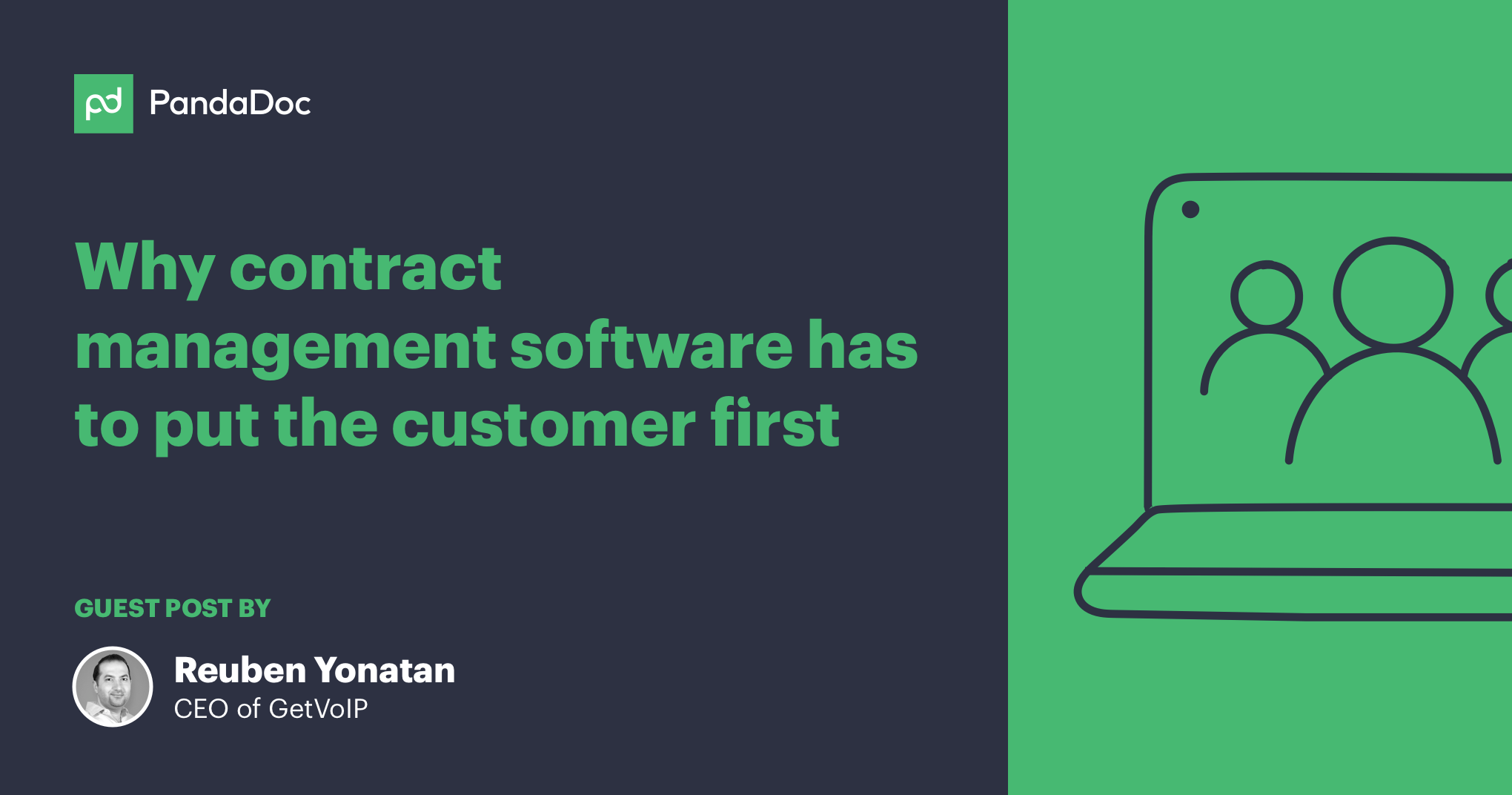 Why contract management software has to put the customer first
