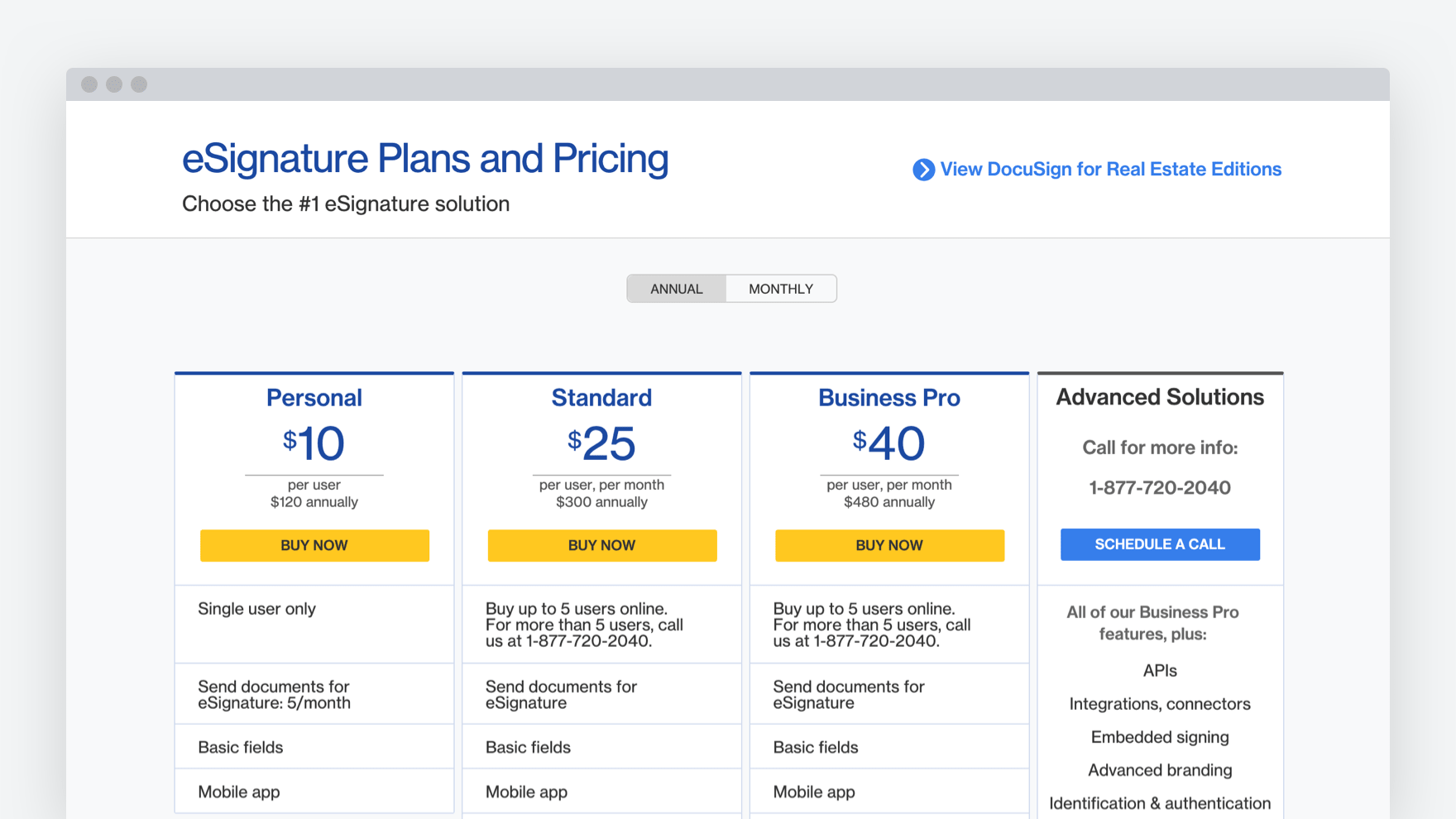 DocuSign_pricing