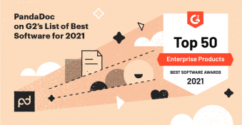 PandaDoc Receives Multiple 2021 Best Software Awards from G2