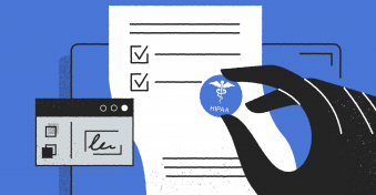 Store HIPAA forms and documents with PandaDoc