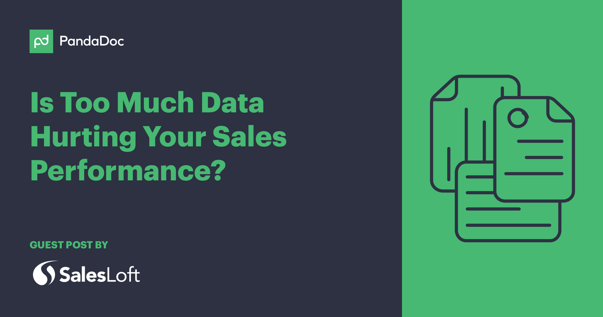 Is too much data hurting your sales performance?