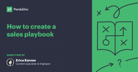 How to create a modern sales playbook