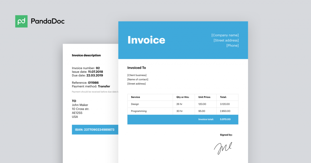 3 Tips How To Write An Invoice Free Invoice Templates For