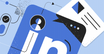 Types of organic LinkedIn content for the entire funnel