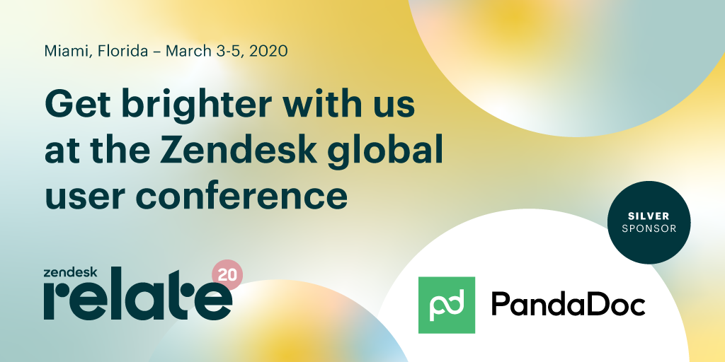We'll see you at Zendesk Relate!
