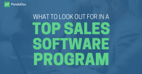 What to look out for in a top sales software program