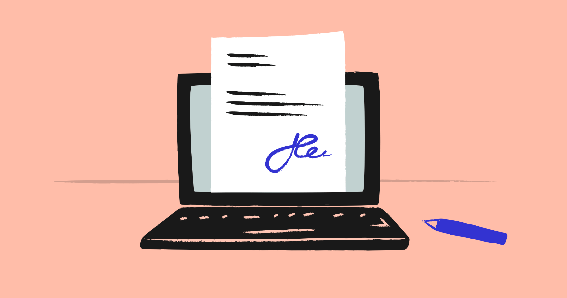 What are electronic signatures and how do they work?