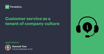 Why customer service needs to be a tenant of your company culture