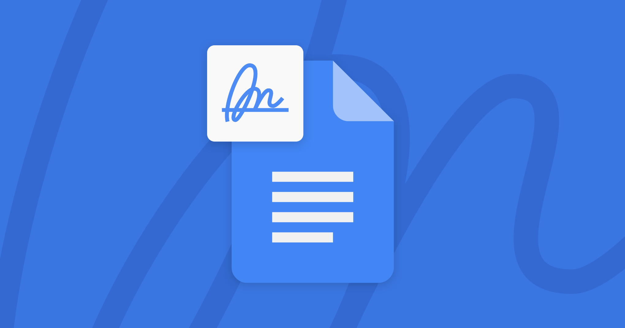 Sign Electronic Signatures in Google Docs, Sheets, Drive