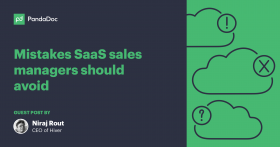 Mistakes SaaS sales managers should avoid in 2018
