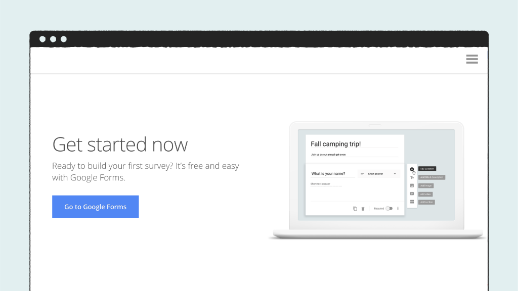 google forms review